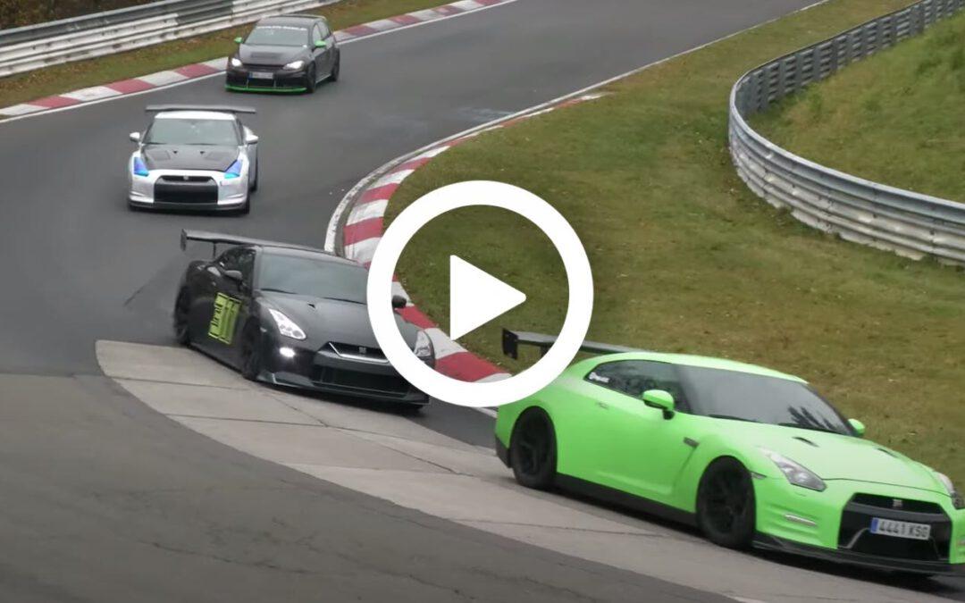 Video – vetste momenten van 2020 op de Nürburgring