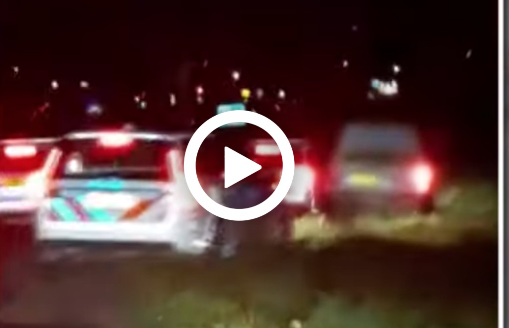 Politieachtervolging: verdachte met lachgas wil niet stoppen