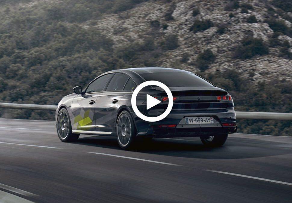 Video – Peugeot 508 PSE doet een rondje Le Mans