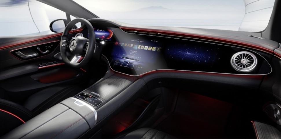 In beeld: de verschillende interieurs van de Mercedes EQS