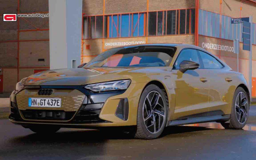 Audi RS e-tron GT rijtest