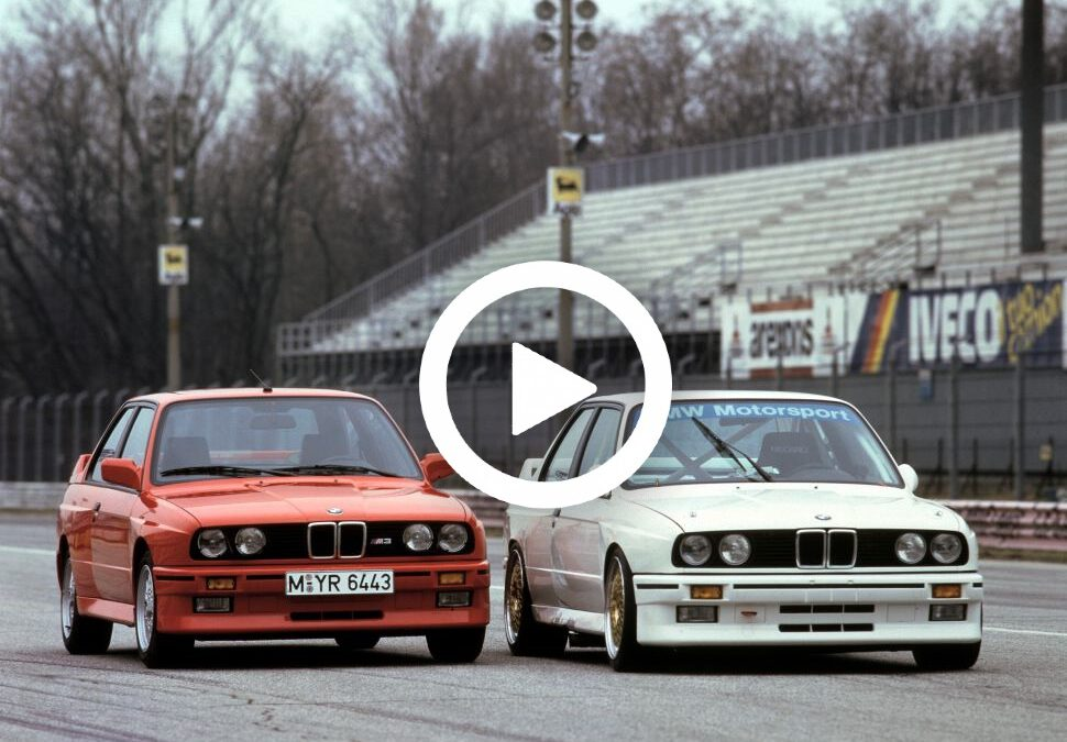 Video – Johnny Cecotto over 'zijn' BMW M3 (E30)