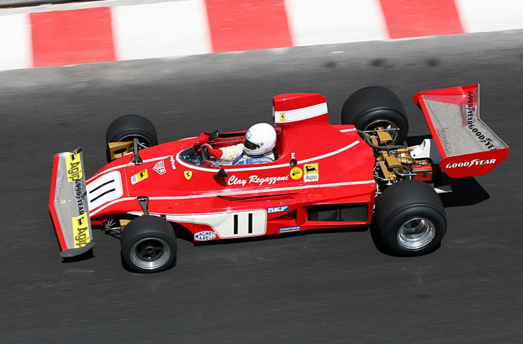 Video – waan je in een videogame met oude Ferrari F1 auto