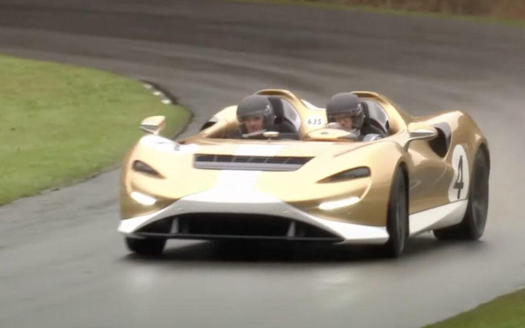 Video: glibberen en glijden met een McLaren Elva van 1 miljoen euro
