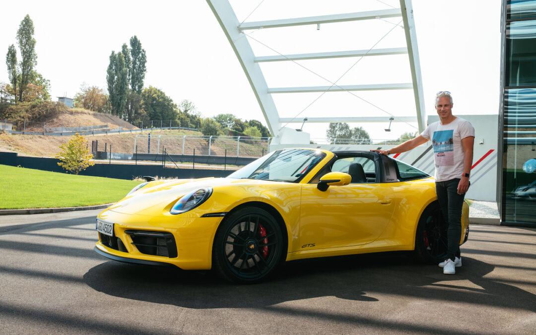 Porsche 992 GTS rijtest video