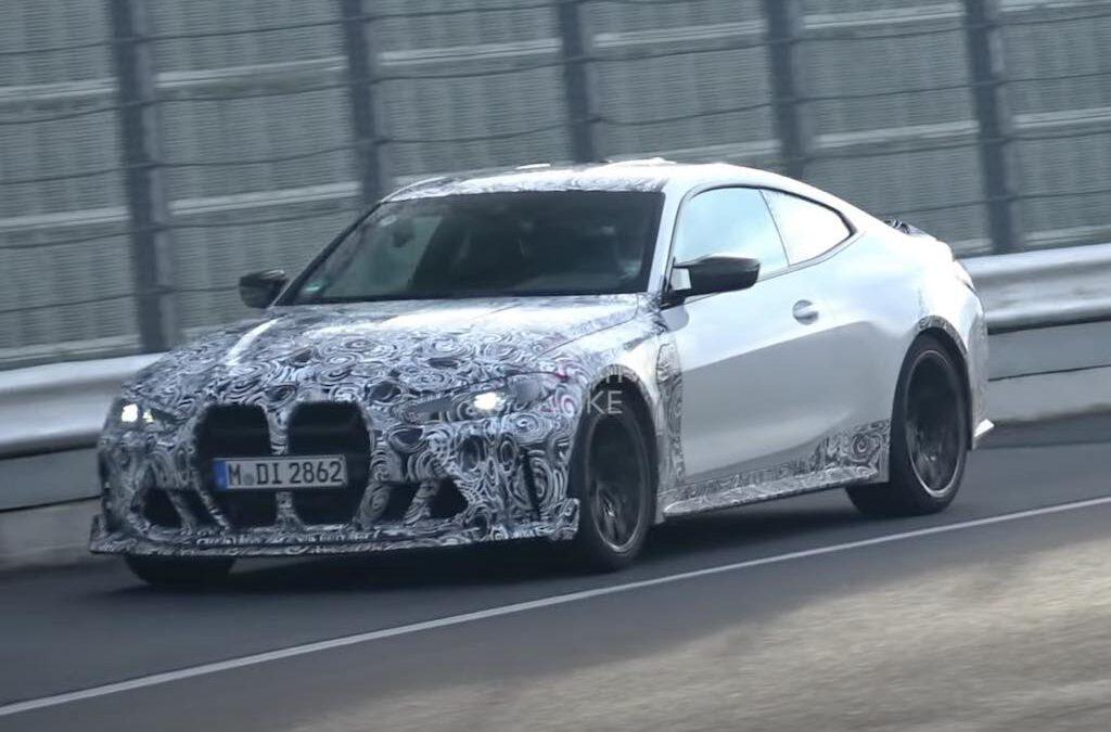 Video: BMW M4 CSL mag weer buitenspelen